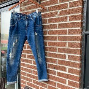 Size 27 Able Boyfriend Jeans